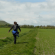 Debbie hikes on the South Downs