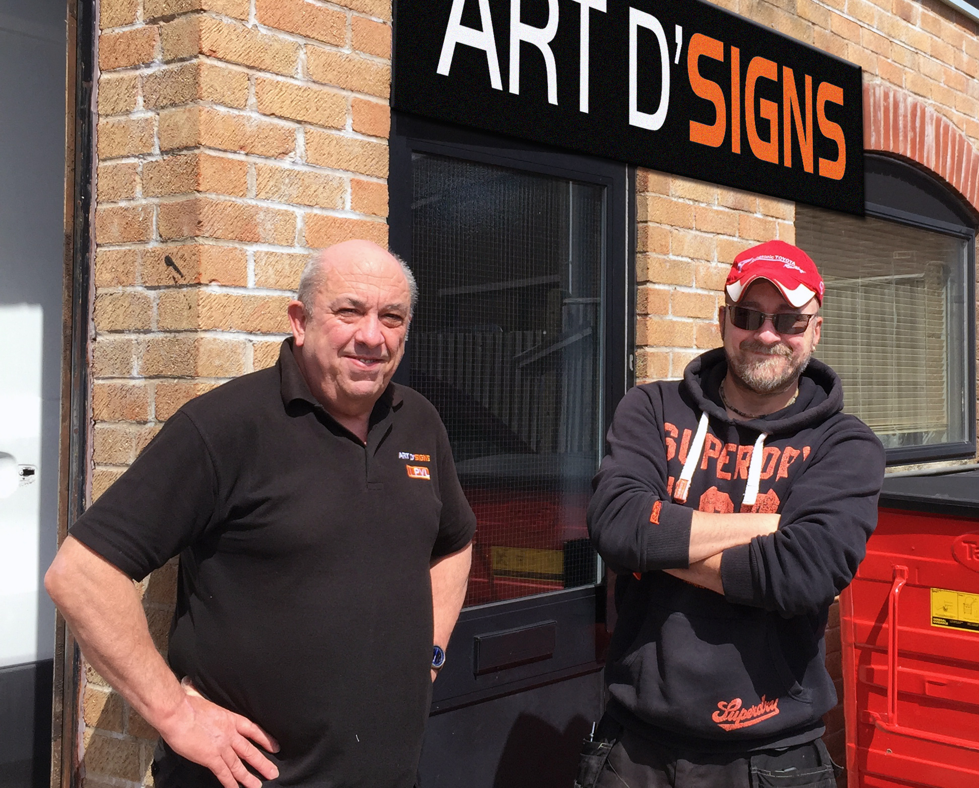 Art D'Signs 40th anniversary