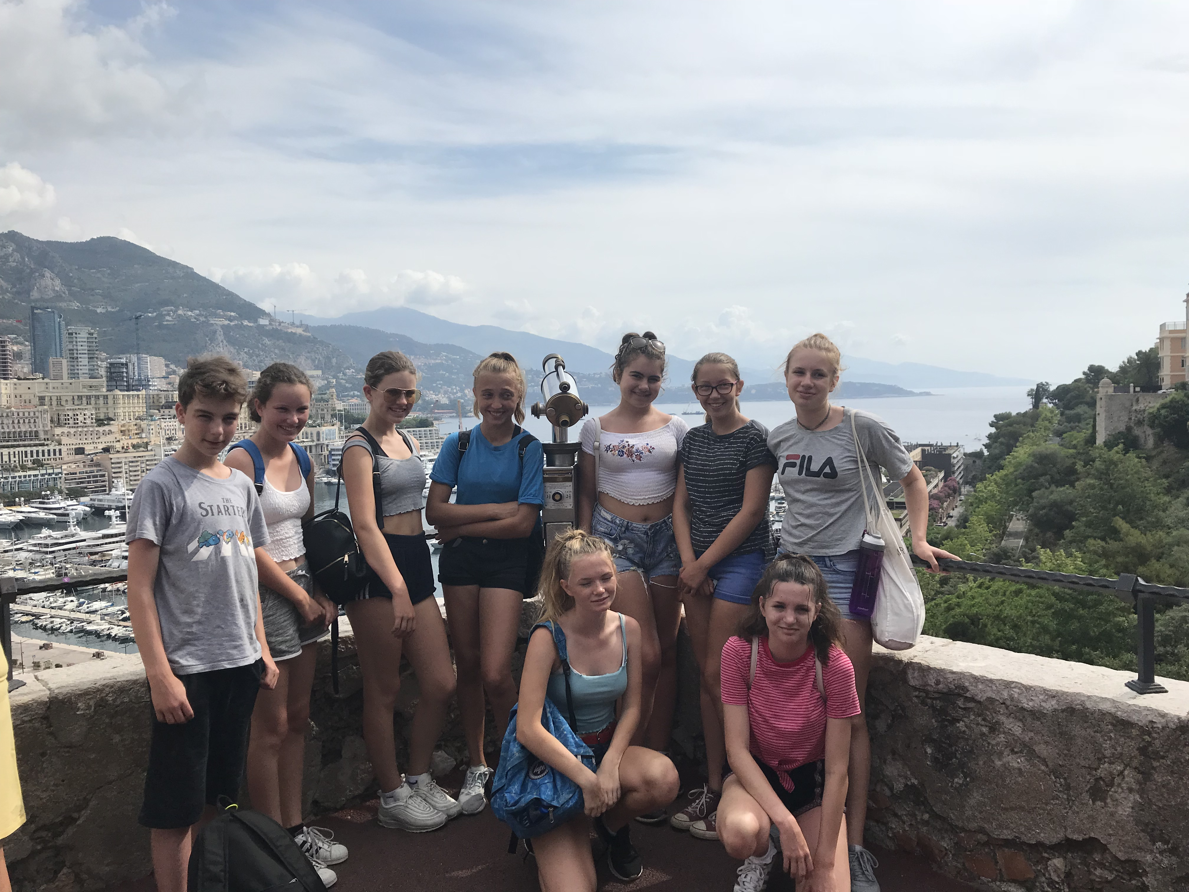 LOGS students actively involved in conservation in Italy